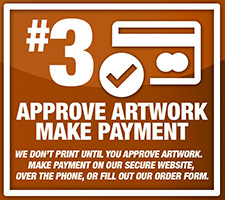 Approve Artwork & Make Payment